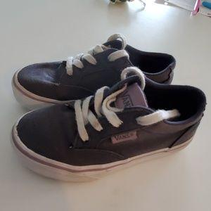 Little Girls Van's Shoes size 11